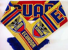 Ecuador Football Scarves New from Superior Acrylic Yarns
