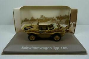 VW Schwimmwagen typ 166 sable decouvert 1942 - Ixo Atlas 1/43° - etat neuf