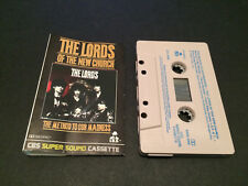 THE LORDS OF THE NEW CHURCH THE METHOD TO OUR MADNESS AUSTRALIAN CASSETTE TAPE