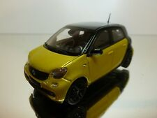 NOREV SMART FORFOUR - YELLOW METALLIC + BLACK  1:43 - EXCELLENT CONDITION - 28