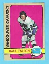 1972-73 Topps 15 Dale Tallon Vancouver Canucks! MINT! *SET BREAK*