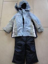 Schneeanzug*Skianzug*Gr 98/104* TCM*Tchibo 2-tlg*Jungs*hellblau/grau*mit Reflekt