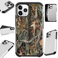 Fusion Case For iPhone 11/Pro/X/XR/XS Max Phone Cover CAMO TREE