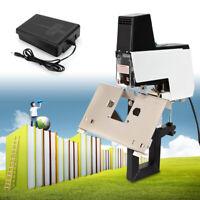 Dual-use Electric Flat+Saddle Stapler Binder Stitcher Bookbinding Stitch Machine
