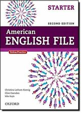 American English File Second Edition: Level Starter Student Book: With Online…