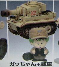 Dr. Slump ARALE chan Military Costume Mini Figure of Gatchan w/Tank