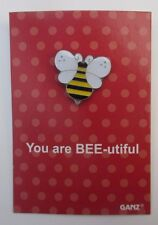 OOD You are bee beautiful tack lapel PIN IT POWER ENAMEL Ganz humor