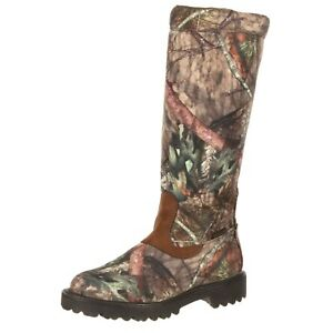 """Rocky RKS0232 Men's 16"""" Low Country Waterproof Snake Hunting Boots Shoes"""