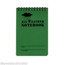 WATERPROOF NOTEBOOK WITH GRID PAPER ARMY CADET NOTEBOOK