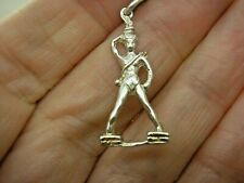 Willian Tell Charm Vintage Solid Sterling Silver