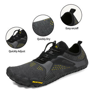 Men's Barefoot Water Shoes Sports Shoes Quick Dry Beach Walking Shoes Size6.5-13