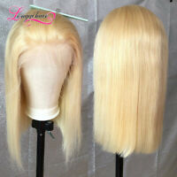 613 Bob Style 13x4 13x6 Lace Front Wig Straight Human Hair Transparent Lace 150%