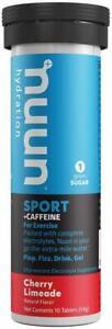 Nuun Energy by Nuun, 10 tablets Cherry Limeade 8 pack