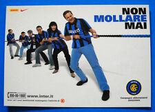 CARTOLINA PROMOCARD N. 3213 - INTER - NON MOLLARE MAI - 2002/03 - cm.10,5x15