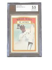 1972 Topps Willie Mays San Francisco Giants #50 Baseball Card