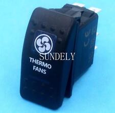 Thermo Fans Rocker Switch Blue ARB Carling Style Type Landcruiser Patrol 5-Pin