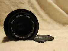 STUNNING Canon EOS fit Cosina 100mm AF TRUE Macro 1:1 + Matched adaptor