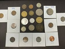Foreign, United Kingdom coin lot ,Steel,  Mixed Years modern #6422