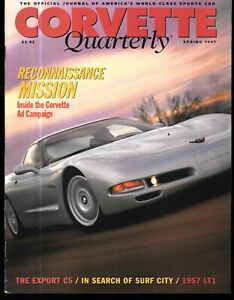 Corvette Quarterly Spring 1997 C5 Ad Campaign 1861 Fuelie 1961 Tubed-Frame Vette