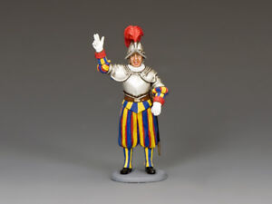 King and Country Swiss Guard Recruit CE026 MIB