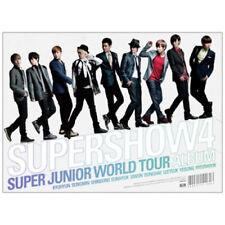 SUPER JUNIOR [SUPER SHOW 4] The 4th World Tour Album 3CD+Broschüre K-POP SEALED