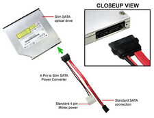 "5-pack13(7+6) Pin Slimline SATA 16"" Cable for Slim SATA DVD Drive"