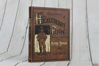 Adventures of Huckleberry Finn Mark Twain Hardcover FACSIMILE REPRINT 1993