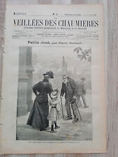 Journal illustré 1908  - Veillées des Chaumières - 21 Novembre - Petite José...