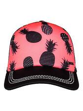 Haut femme ROXY casquette de baseball. nouveau DIG ce ananas réglable trucker hat 7S/10/NKN