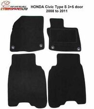 HONDA Civic Type S (3 and 5 door) 2008 to 2011 Fully Tailored Car Mats
