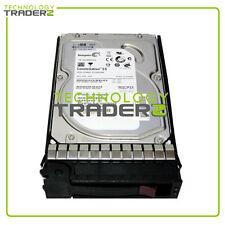 "637742-001 HP 1TB 3G SATA 7.2K RPM 3.5"" Hard Drive 454146-B21 W/Blank Tray"