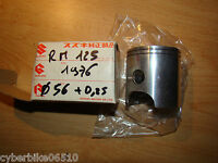 SUZUKI RM 125 - 1975 / 1978 - PISTON D ORIGINE NU COTE 0,25 - 12110-41729
