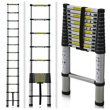 Telescoping Ladder 12.5 Ft 330 LB Telescopic RV Hunting Portable Ladders / NIB