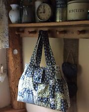 Patchwork Quilted Bag Sewing Pattern (easy to make) 'disappearing 9 patch'