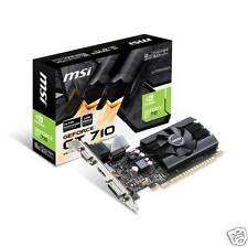 MSI nVIDIA GeForce GTX 710 2GB GDDR5 VGA/DVI/HDMI Low Profile PCI-E Video Card G