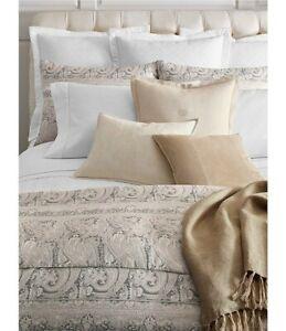 Ralph Lauren Mariella 5P King Duvet Cover Shams Deco Pillows Set $1160