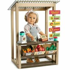 American Girl Kit's GARDEN STAND vegetables fruit product   Doll not included