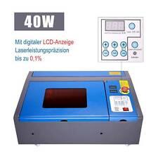 40W CO2 Laser Graviermaschine Carving Cutter Gravurmaschine Engraving mit Rädern