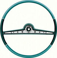 OER Reproduction Two Tone Blue Steering Wheel 1962 Chevrolet Impala