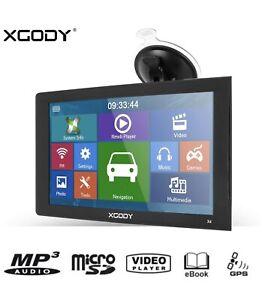 Truck GPS Navigation 9inch Touchscreen Xgody 8gb Bluetooth AV-in