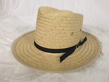 AMISH STRAW HAT SIZE Large Brand New