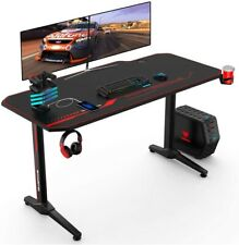 Gaming Desk E-sports Computer Table PC Workstation  Handle Rack&Mouse Pad