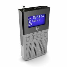 Portable Pocket Personal DAB+ DAB Digital FM Radio Rechargeable With Speaker