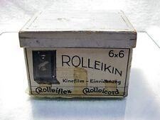Early Rolleiflex/Rolleicord Rolleikin Set w/ counter back etc  | $89 | Pls read