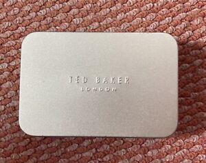 Gold Ted BAKER London Tin