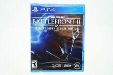 Star Wars Battlefront II Deluxe Edition: Playstation 4 [Brand New] PS4