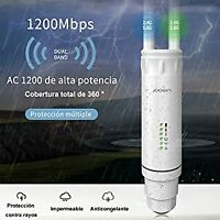AC 1200Mbps IP65 Outdoor Wireles Repeater 2.4G&5G Wifi Ranger Extender Booster
