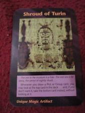Shroud of Turin Illuminati New World Order INWO Limited Edition Rare card