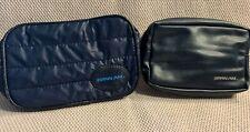 Set Of 2 Different Vintage Pan Am Airways Toiletries Bags Giveaways (Unused)