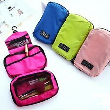 Handy Storage three compartments toiletries bag - Travel use carry on